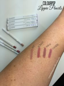 ColoupPop Lippie Pencil Swatches